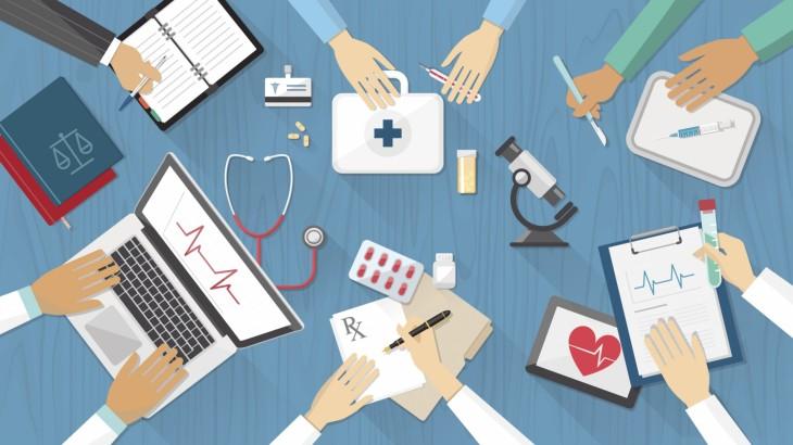 medical-team-technology